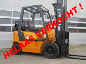 Gebruikte heftruck- www.gebruikteheftrucks.net helaas verkocht LPG Vorkheftruck Hyundai