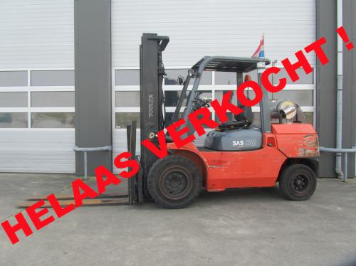 Toyota 5 ton diesel verkocht gebruikteheftrucks.net