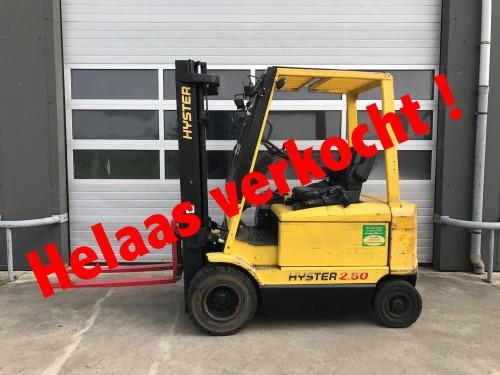 www.gebruikteheftrucks copy.nl  Hyster elektrische heftruck verkocht