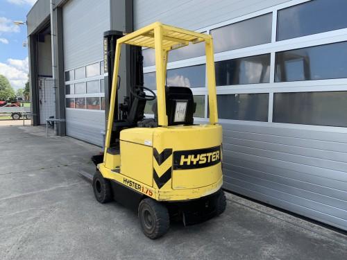www.gebruikteheftrucks.net Hyster 1.75 elektrische vorkheftruck 1,8 ton hefvermogen forklift vorkheftruck clark 2