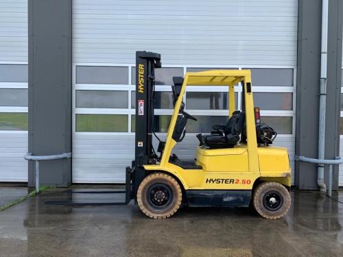 www.gebruikteheftrucks.net Hyster H2.50XM duplo 2-delige 3830 mm mast LPG GAS Hyster Yale Jungheinrich Linde Still Doosan Toyota BT Hyundai