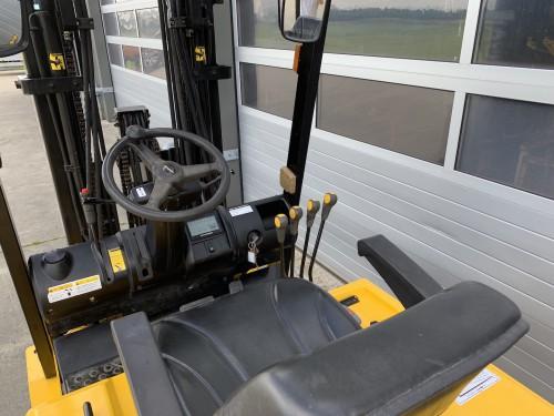 www.gebruikteheftrucks.net Hyundai 25BH-7 elektrische vorkheftruck 2,5 ton hefvermogen forklift vorkheftruck clark 3