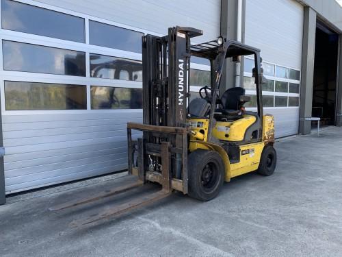 www.gebruikteheftrucks.net Hyundai 3 ton diesel heftruck forklift Hyundai 30D-7E vorkheftruck 1
