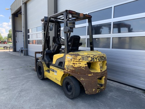 www.gebruikteheftrucks.net Hyundai 3 ton diesel heftruck forklift Hyundai 30D-7E vorkheftruck 2