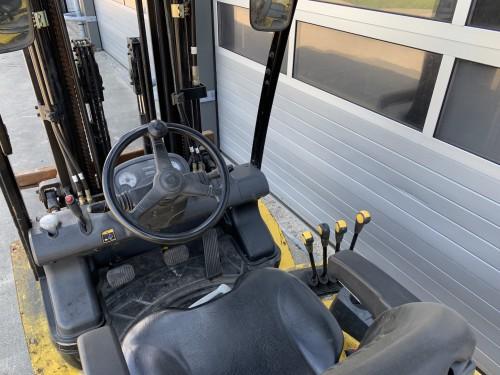 www.gebruikteheftrucks.net Hyundai 3 ton diesel heftruck forklift Hyundai 30D-7E vorkheftruck 3