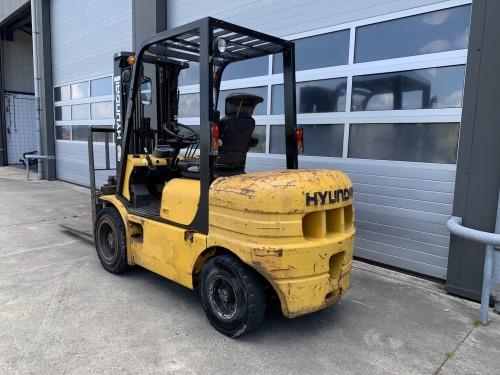 www.gebruikteheftrucks.net Hyundai 3 ton diesel heftruck forklift Hyundai HDF30-II vorkheftruck 2