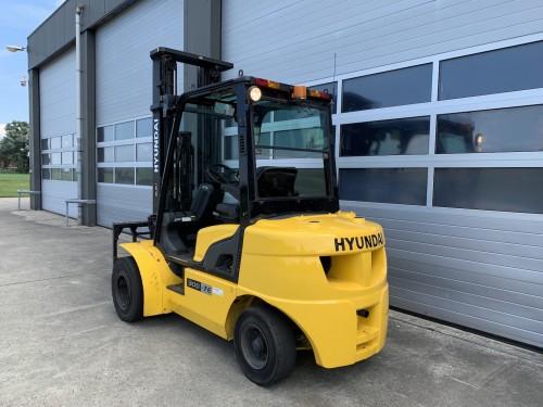 www.gebruikteheftrucks.net Hyundai 30D-7E 3 ton diesel heftruck vorkheftruck 2
