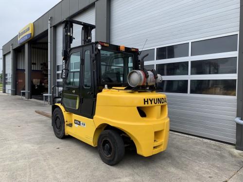 www.gebruikteheftrucks.net Hyundai 45L-7A LPG heftruck forklift 4,5 ton 2