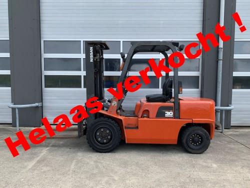 www.gebruikteheftrucks.net Nissan 3 ton diesel heftruck verkocht