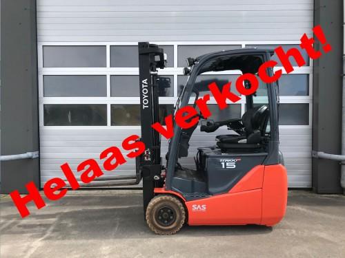 www.gebruikteheftrucks.net Toyota heftruck verkocht