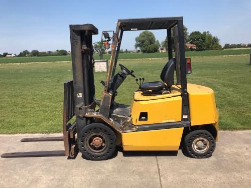www.gebruikteheftrucks.net Yale 2.5 ton diesel