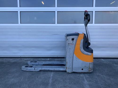 www.gebruikteheftrucks.net gebruikte Still EXU20 palletwagen pompwagen linde hyundai toyota jungheinrich elektrische pallet wagen 1
