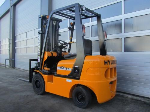 www.gebruikteheftrucks.net hyundai 1.8 ton gebruikte diesel heftruck vorkheftruck  2