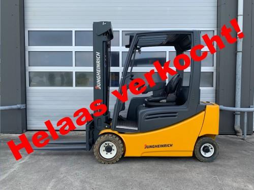 www.gebruikteheftrucks.net jungheinrich EFG320 verkocht