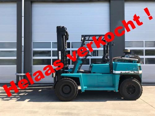 www.gebruikteheftrucks.net komatsu 6 ton diesel heftruck