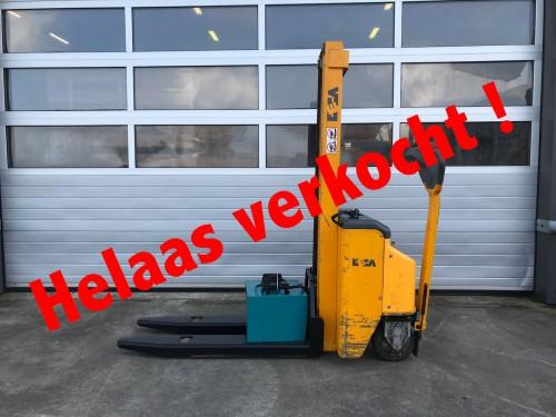 www.gebruikteheftrucks.nl DECA Stapelaar 1000kg verkocht