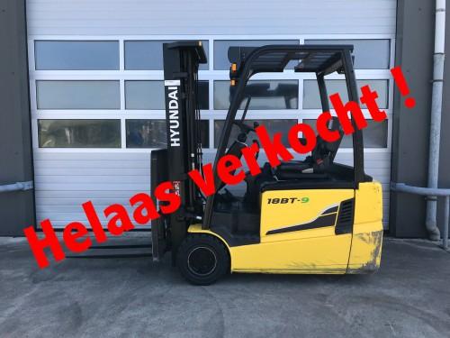 www.gebruikteheftrucks.nl Hyundai 18BT-9 machine is verkocht 1