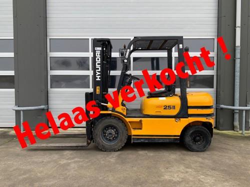 www.gebruikteheftrucks.nl LPG Hyundai verkocht diesel