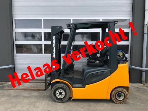 www.gebruikteheftrucks.nl LPG Jungheinrich verkocht