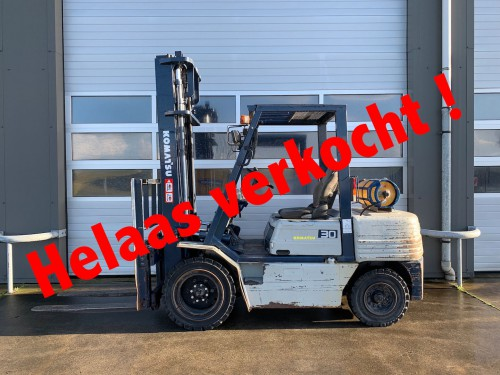 www.gebruikteheftrucks.nl LPG Komatsu verkocht