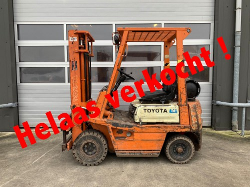 www.gebruikteheftrucks.nl LPG Toyota verkocht