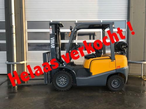 www.gebruikteheftrucks.nl LPG Vimar 2,5 ton LPG heftruck verkocht
