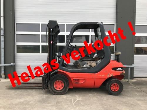 www.gebruikteheftrucks.nl Linde Diesel heftruck verkocht