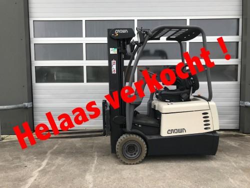 www.gebruikteheftrucks.nl crown machine verkocht