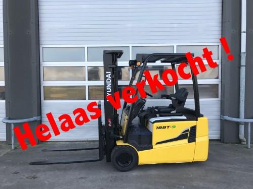 www.gebruikteheftrucks.nl elektrisch Hyundai verkocht