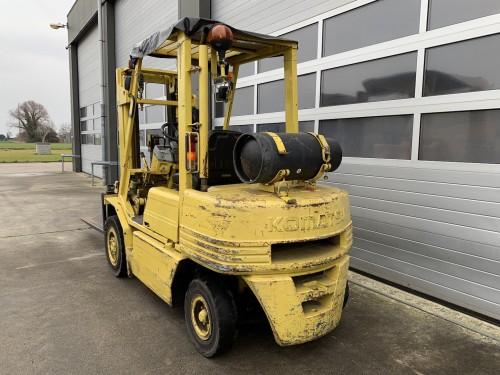 www.gebruikteheftrucks.net Komastu 2.5 ton lpg machine heftruck vorkheftruck 2
