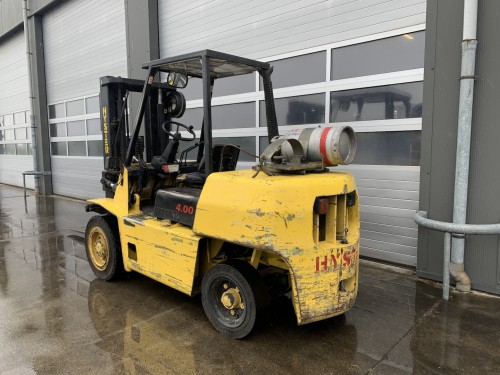 www.gebruikteheftrucks.net Hyster H4.00XLS LPG heftruck 4 ton gas vorkheftruck Hyster H4.00 XL clark 2