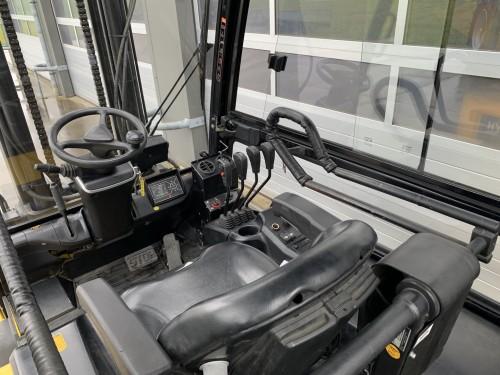 www.gebruikteheftrucks.net Hyundai 45B-9 4,5 4.5 ton elektrische heftruck vorkheftruck clark jungheinrich still linde hyster hyundai elektrisch 4